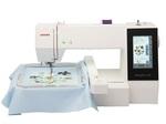 Вышивальная машина Janome MC500 (160 встроенных дизайнов, цветной дисплей, подключение к компьютеру)